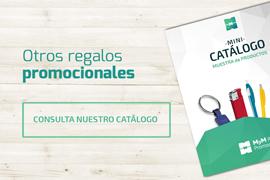 Banner consulta catálogo MyM Regalos Promocionales