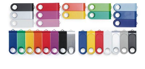 Memorias USB sin personalizar