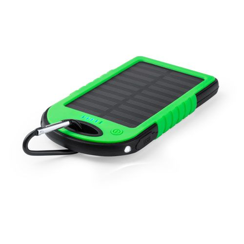 Power bank personalizados Lenard verde