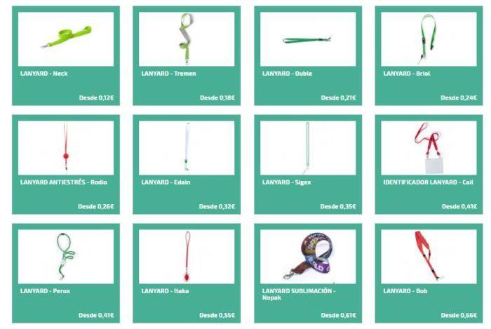 Usos para los lanyards personalizados
