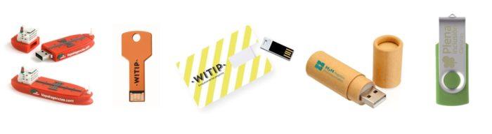 USB personalizados para congresos