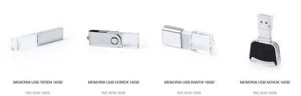 memorias USB promocionales